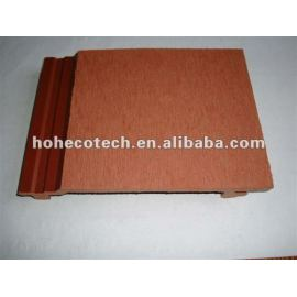 156x21mm HOH Ecotech wpc composite wall panels (Passed CE, ROHS, ASTM,ISO9001,ISO14001, Intertek)