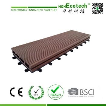 new diy interlocking wpc composite floor tile