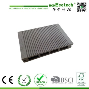 Hot sale cheap hollow wpc composite decking