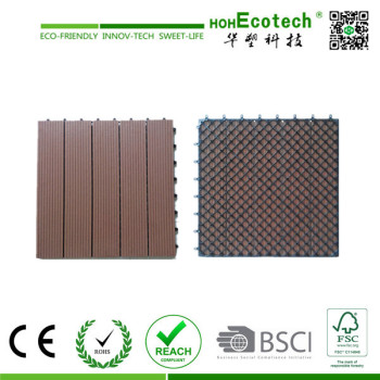 Cheap wpc composite interlocking decking tiles