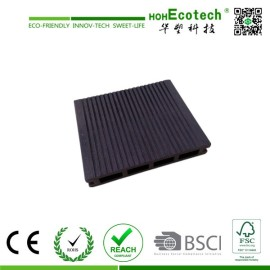 Huasu Various Design Anti-slip Natural Wood WPC Decking Floor