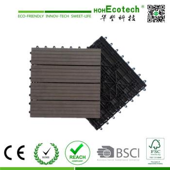 300*300 huasu wpc decking tiles