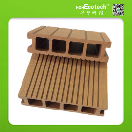 Easy installation low price waterproof wpc decking board with CE