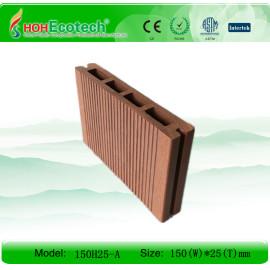 UNTI-UV WATERPROOF OUTDOOR WOOD PLASTIC COMPOSITES
