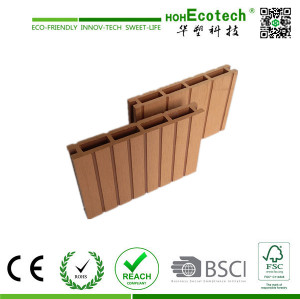 Non-slip wood plastic composite decking /wpc decking board