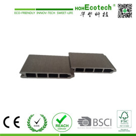 rotten resistant ,water-proof wood plastic composite wall panel/wpc cladding150*21mm