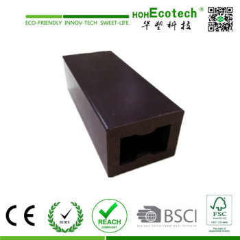 hollow wood plastic composite joist/wpc decking joist