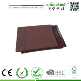 water-proof wood plastic composite wall panel/wpc exterior cladding