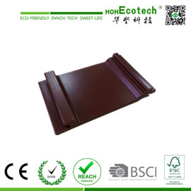 water-proof wood plastic composite wall panel/wpc outdoor cladding