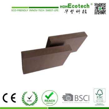 factory price wpc hollow decking/wood plastic composite flooring
