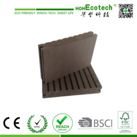 good quality plastic wood composite decking board/cheap solid wpc flooring