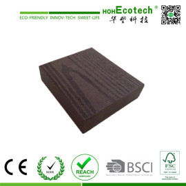embossing wpc outdoor decking board/wpc solid flooring
