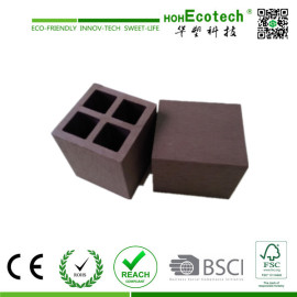 water-proof wood plastic composite fencing post/light weight wpc post
