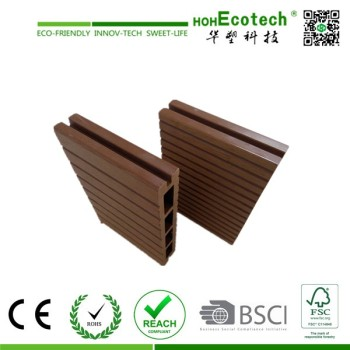 hollow wpc decking/outdoor composite decking