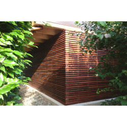 thick wood plastic composite decking board