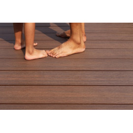 barefoot wpc outdoor decking/extruded wpc flooring