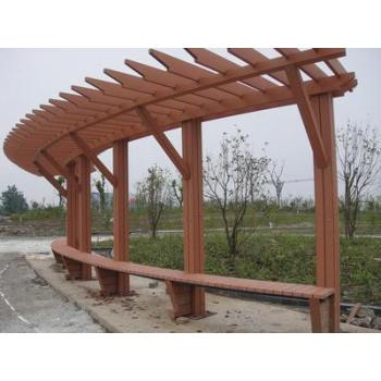 High quanlity WPC pergola railing post/outdoor wpc post