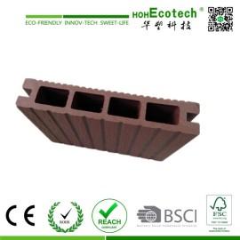 termite resistant wpc hollow decking/wood plastic composite flooring