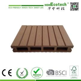 wooden plastic composite outdoor decking boards plastic wood decking supplier
