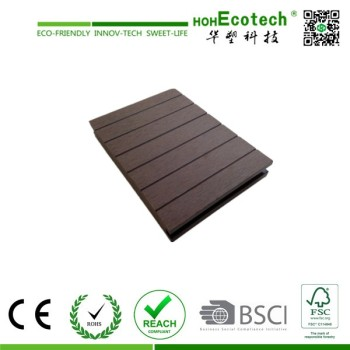 Outdoor WPC Decking Floor decking plastic wood China