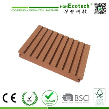 Eco-Friendly Wood Plastic Composite Deck Grooving WPC Profile