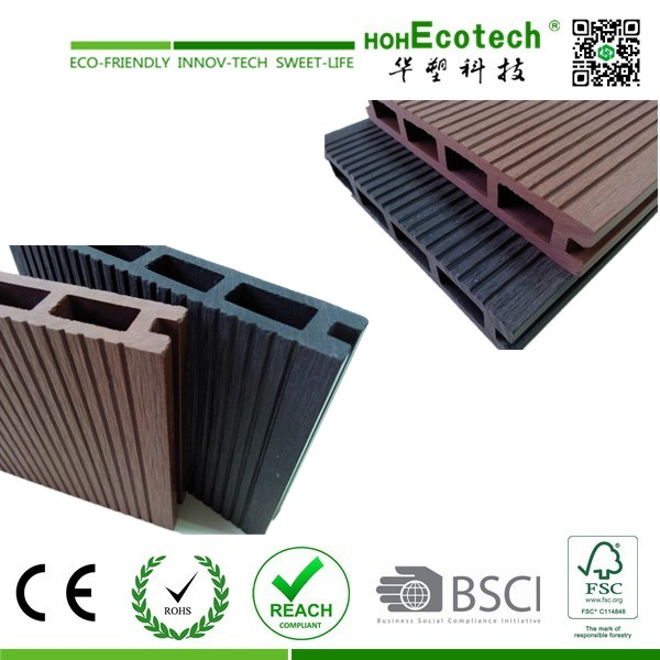 Hot sale natural looking wpc composite decking floor buy for Composite decking sale