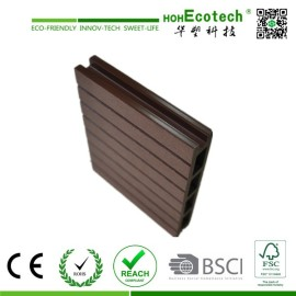 CE certificated composite hollow decking wpc