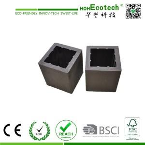 wood plastic composite post/outdoor wood post