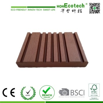wpc marina decking board/crack-resistant outdoor wpc decking
