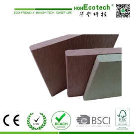thick wpc decorative deck used on the wall