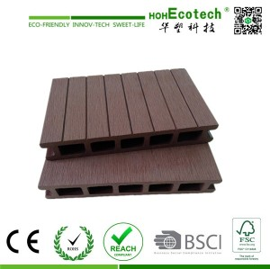 Huasu WPC , High Strength Outdoor WPC Flooring , Wood Composite Deck