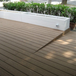huasu wpc,recycled plastic deck boards,wpc board,deck flooring materials