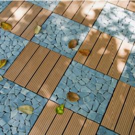 wpc deck tiles ,composite interlocking deck tiles
