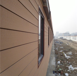 PE plastic composite wpc wall panel