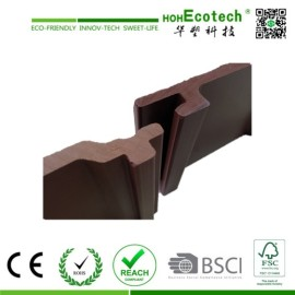 Decorative wood plastic decking wpc wall panel
