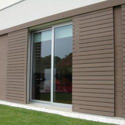 Exterior WPC wall cladding