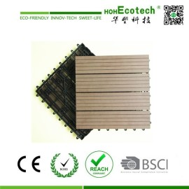WPC Snapping Deck Tiles