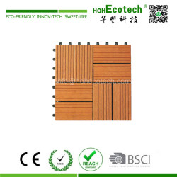 Hot Sale Eco-friendly WPC Leisure DIY Decking Tiles