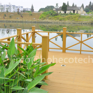 landscaping decoration wpc decking