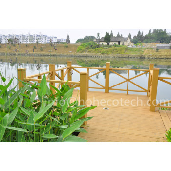 landscaping decoration wpc decking