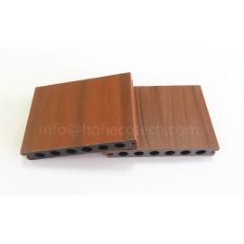 Decorative wpc coextrusion decking material
