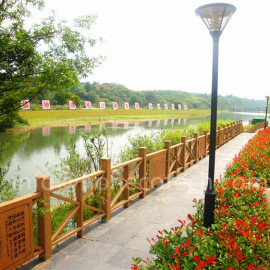 High quanlity durable WPC railing (most suitable for outdoor use)
