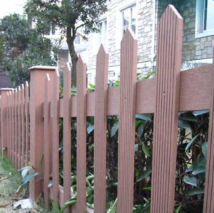 Non-fading safety WPC Fencing