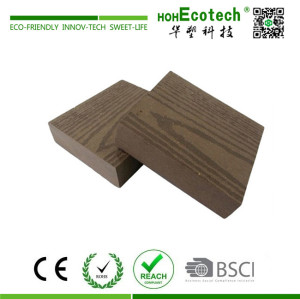 Landscaping decorative wpc decking