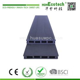 Hollow wood plastic composite artifical deck