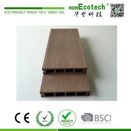 Recycled anti-uv interlocking composite decking