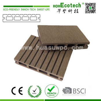 Full sizes wpc hollow decking board