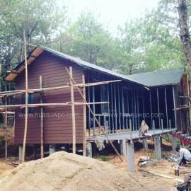 Wood Plastic Composites shed