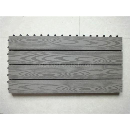 Promotion---DIY deck tile with wood grain