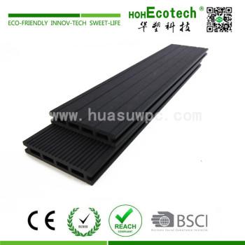 Outdoor wood plastic composite flooring material